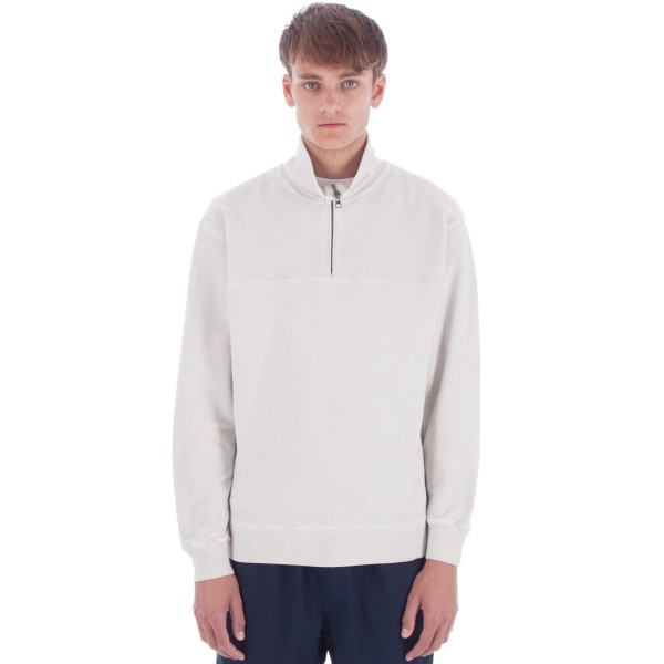 Saturday's Surf NYC Sam Quarter Zip Pullover Sweatshirt (Ash Dye)