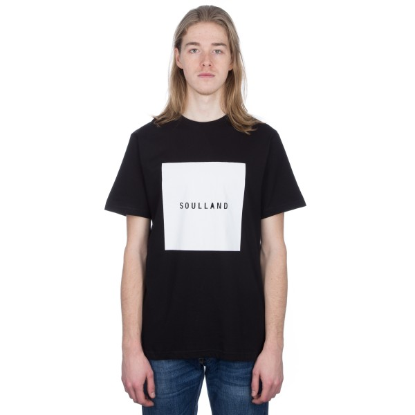 Soulland Soulsquare T-Shirt (Black)