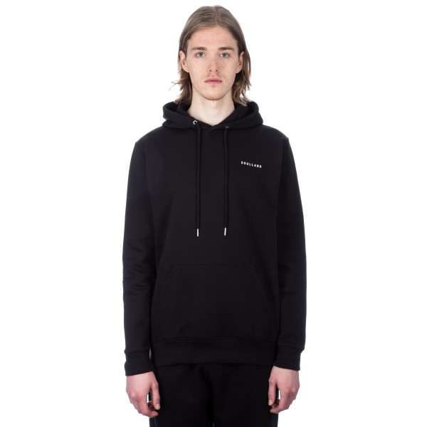 Soulland Wallance Pullover Hooded Sweatshirt (Black)