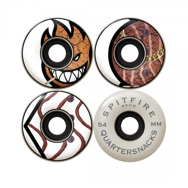 Spitfire x Quartersnacks 80HD Quarter Classics Soft Wheels 54mm