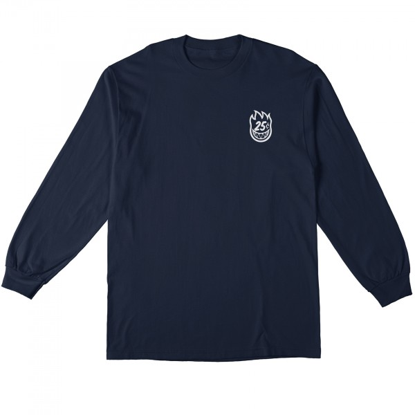 Spitfire x Quartersnacks Quarter Classic Long Sleeve T-Shirt (Navy)