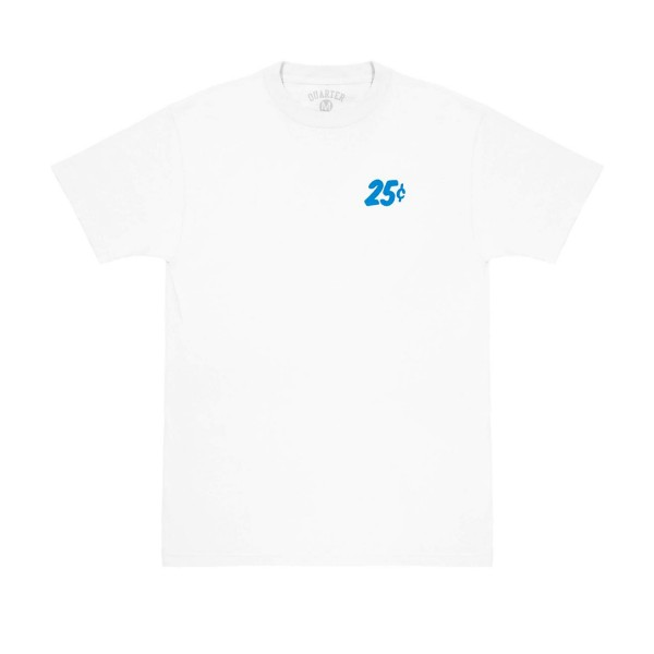 Quartersnacks Safari Snackman Charity T-Shirt (White)