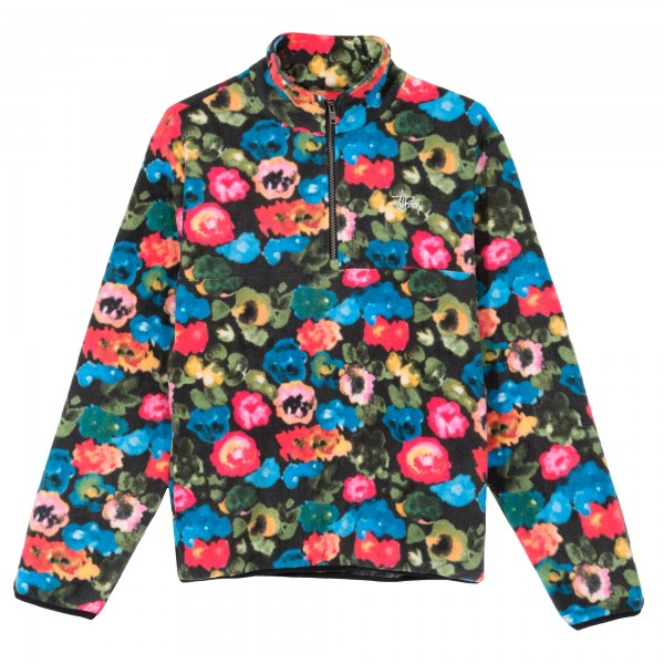 Stussy Basic Polar Fleece Mock Neck (Floral)