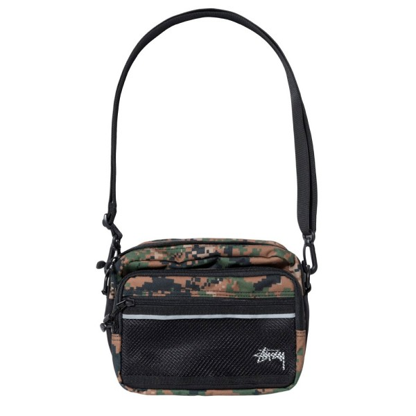 Stussy Digi Camo Shoulder Bag (Digi Camo)