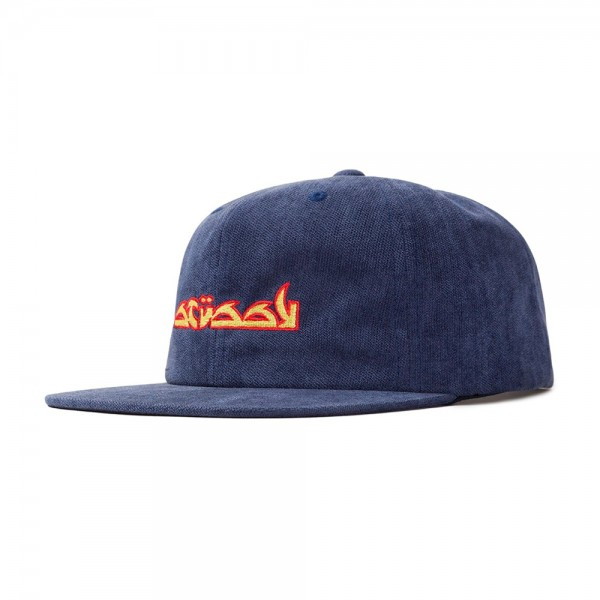 Stussy No Wale Cord Cap (Blue)