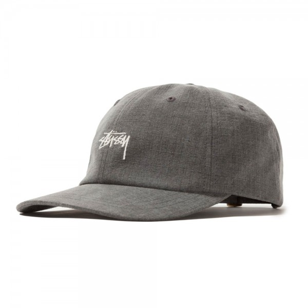 Stussy Washed Ripstop Low Pro Cap (Black)
