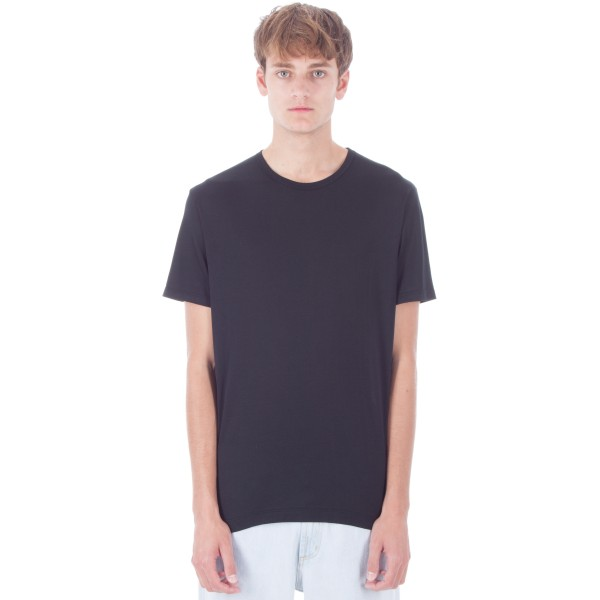 Sunspel Crew Neck T-Shirt (Black)