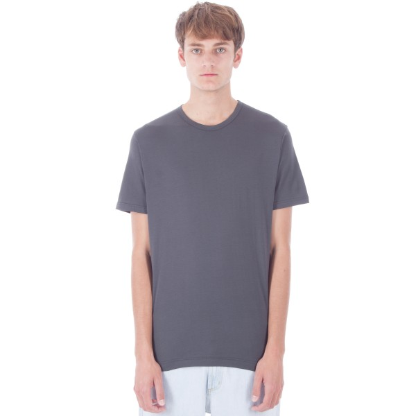 Sunspel Crew Neck T-Shirt (Charcoal)