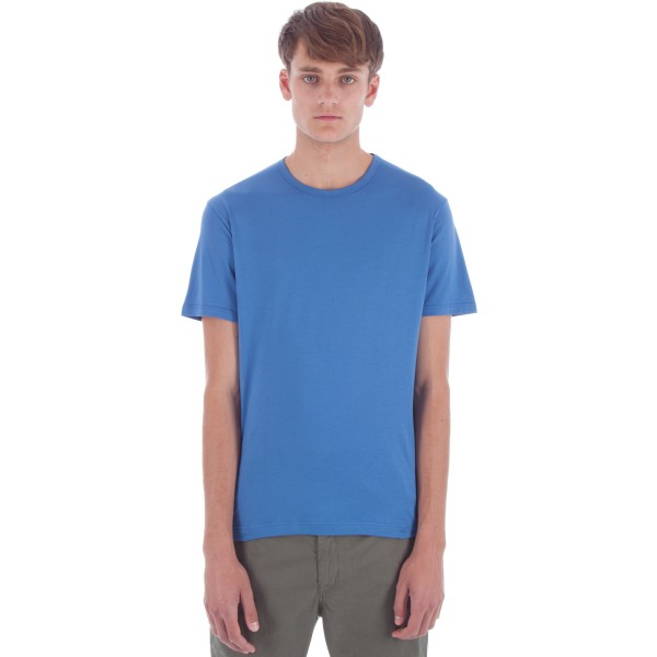 Sunspel Crew Neck T-Shirt (Denim Blue)