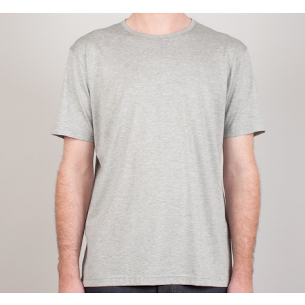 Sunspel Crew Neck T-Shirt (Grey)