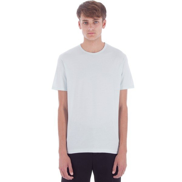 Sunspel Crew Neck T-Shirt (Mineral Blue)