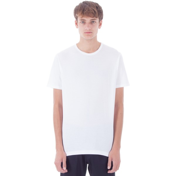 Sunspel Crew Neck T-Shirt (White)