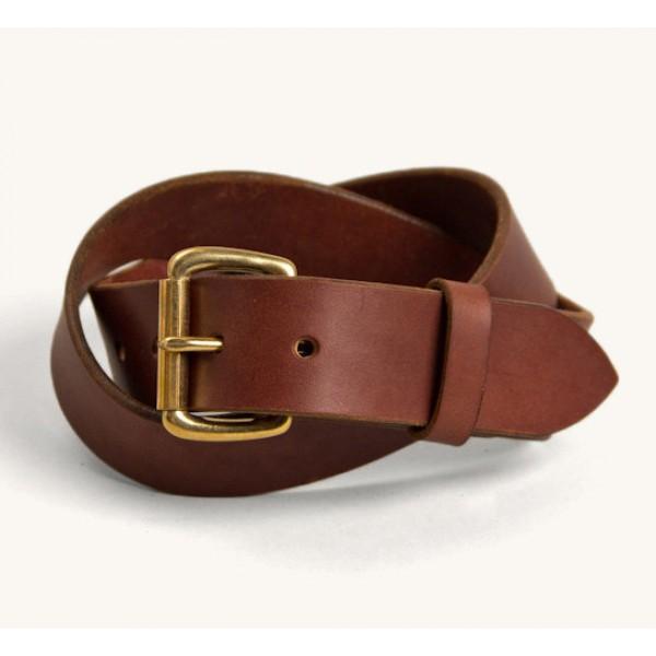 Tanner Goods Standard Belt (Cognac/Brass)