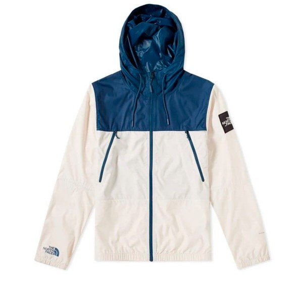 The North Face 1990 Seasonal Mountain Jacket (Blue Wing Teal/Vintage White)
