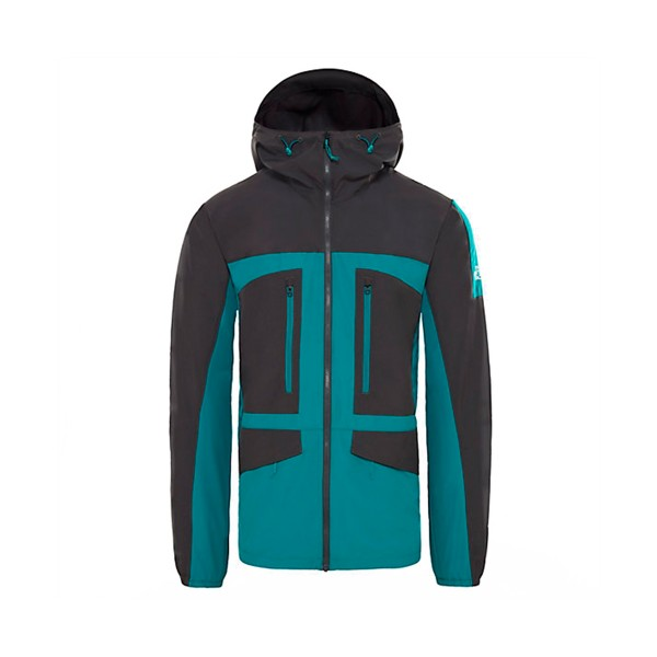 The North Face Fantasy Ridge Light Jacket (Everglade/Asphalt Grey)
