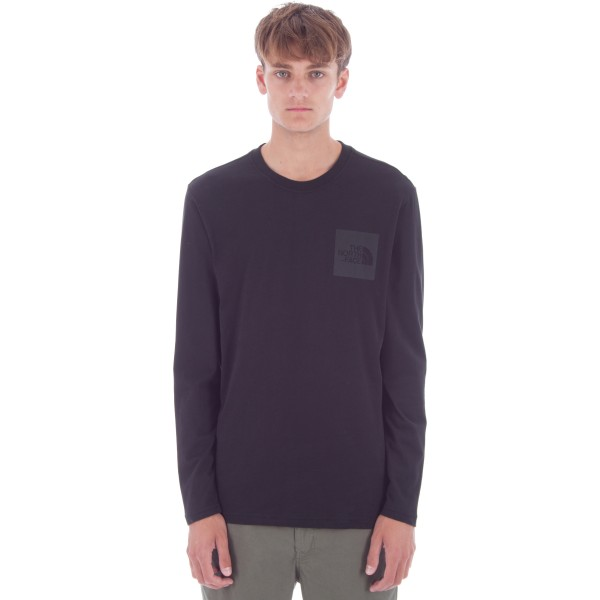 The North Face Fine Long Sleeve T-Shirt (TNF Black)