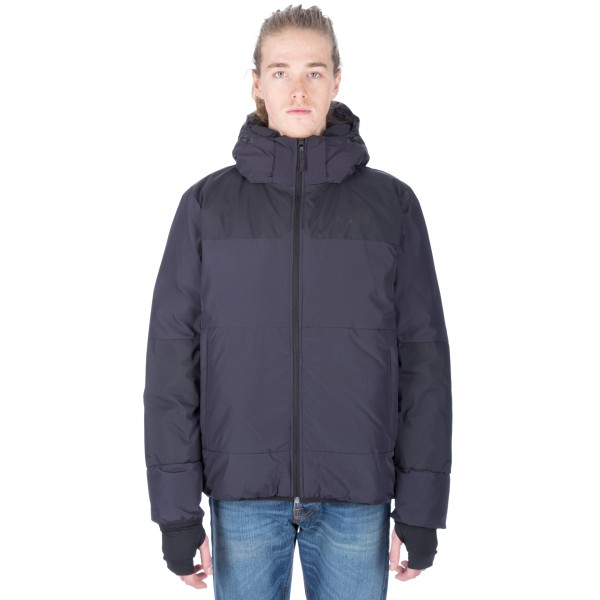 The North Face Red Label Nuptse Down Mega Parka (Dark Navy Blue)