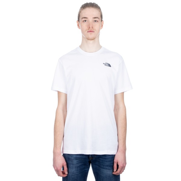 The North Face Redbox Celebration T-Shirt (TNF White/Urban Navy)