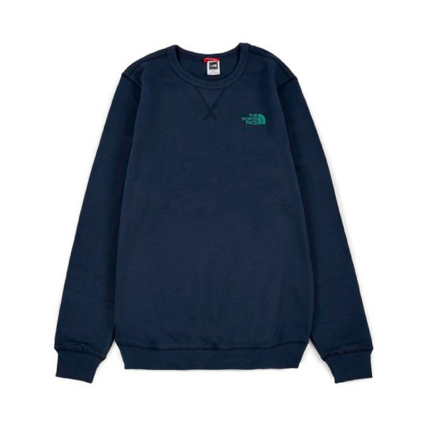 The North Face Street Pullover Crew Neck Sweatshirt (Urban Navy)