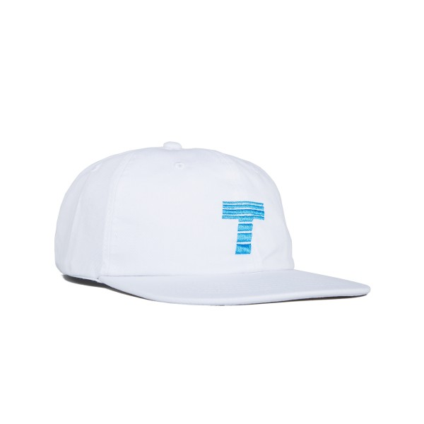 Theobalds Cap Co. Home Cap 'Athletics Pack' (White/Electric Blue)