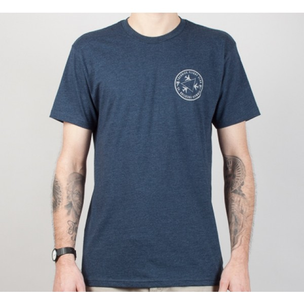 Theories of Atlantis Bermuda T-Shirt (Navy)