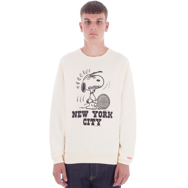 TSPTR New York Crew Neck Sweatshirt (White)