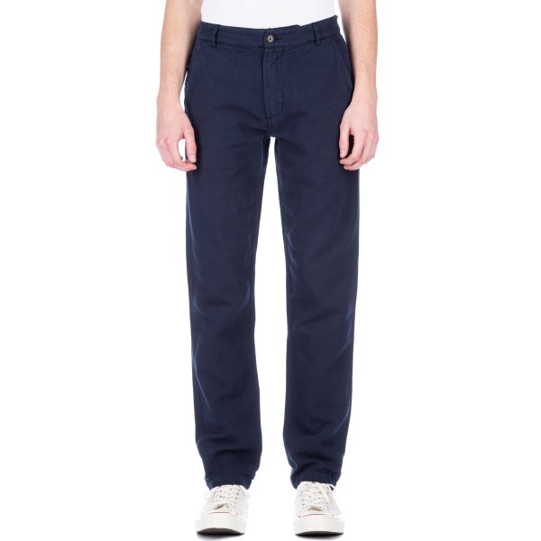 Universal Works Aston Pant (Navy Broadcloth Cotton)