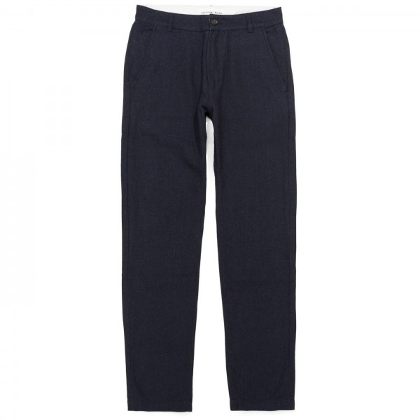 Universal Works Aston Pant (Navy Penny Wool)