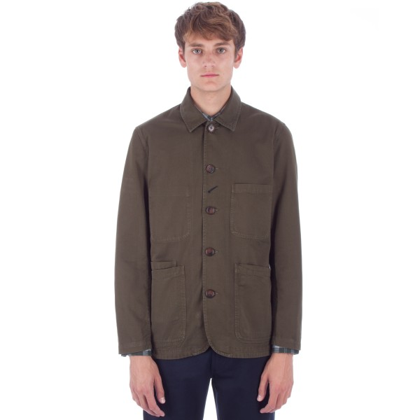 Universal Works Bakers Jacket (Military Olive Twill)