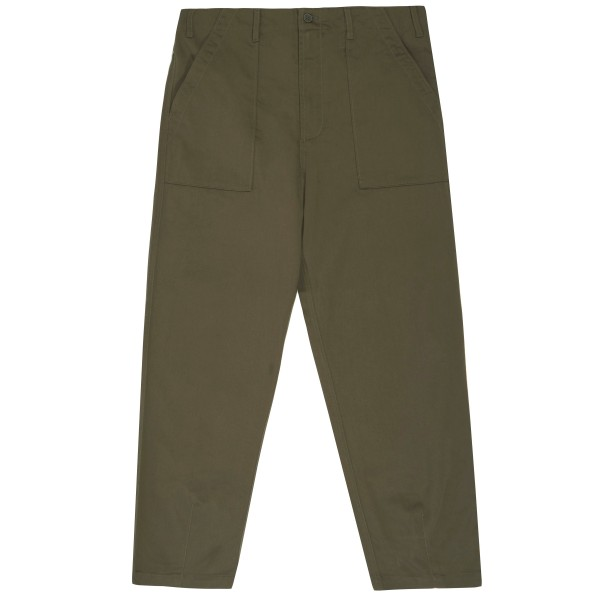 Universal Works Fatigue Pant (Olive Cotton Twill)