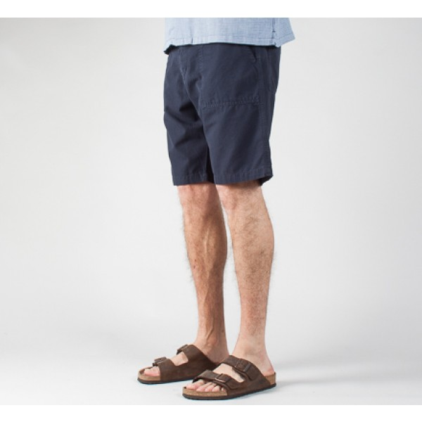 Universal Works Fatigue Short (Navy)