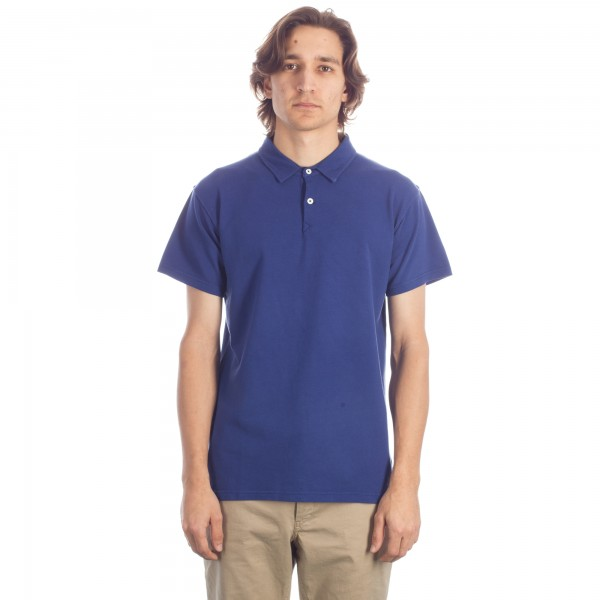 Universal Works Holiday Polo (Navy)