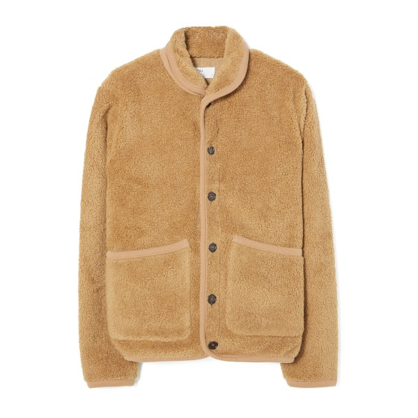 Universal Works Lancaster Jacket (Sand Mountain Fleece)