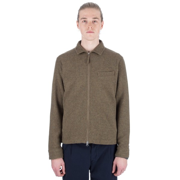 Universal Works Lenton Jacket (Shetland Olive)