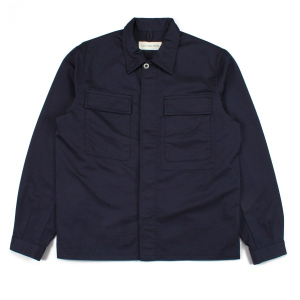 Universal Works Military Work Shirt (Navy Cotton Twill)