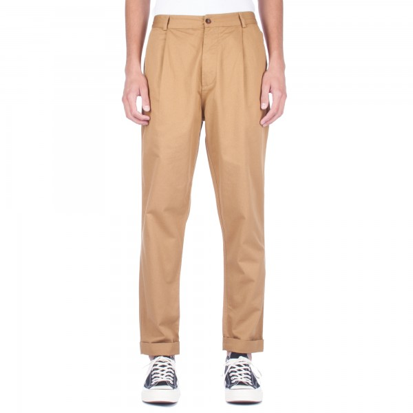 Universal Works Pleated Pant (Camel Twill)