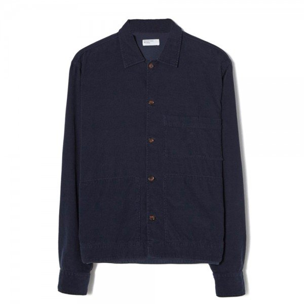 Universal Works Uniform Shirt (Navy Fine Cord)
