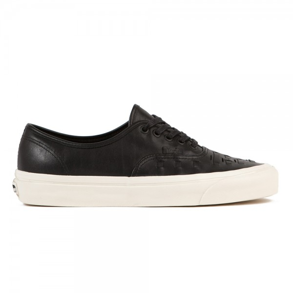 Vans Authentic Weave DX (Black Leather)
