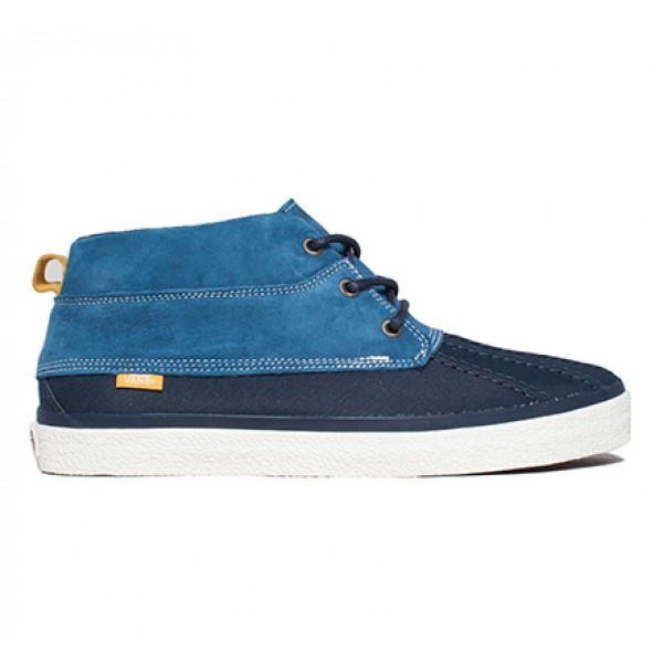 Vans California Chukka Del Pato CA Pig Suede (Dress Blues)