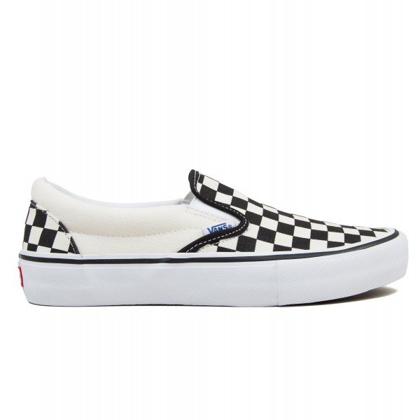 Vans Checkerboard Slip-On Pro (Black/White)