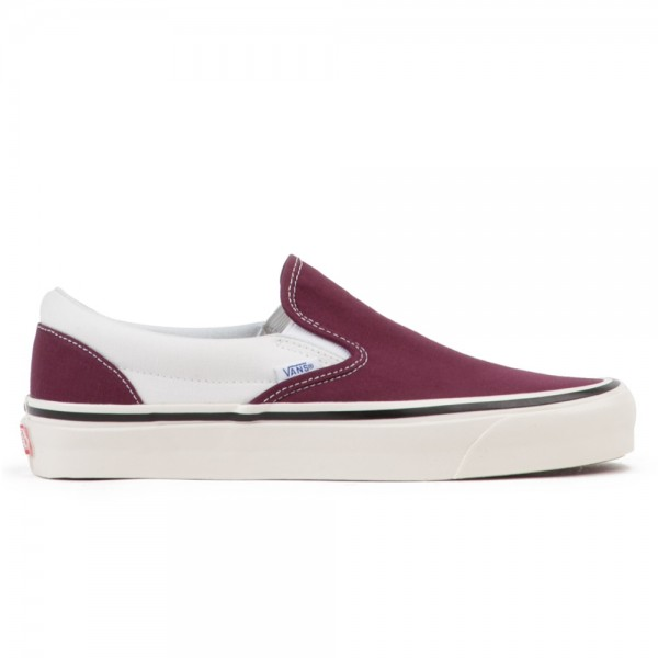 Vans Classic Slip On 98 DX 'Anaheim Factory' (OG Burgundy/White)