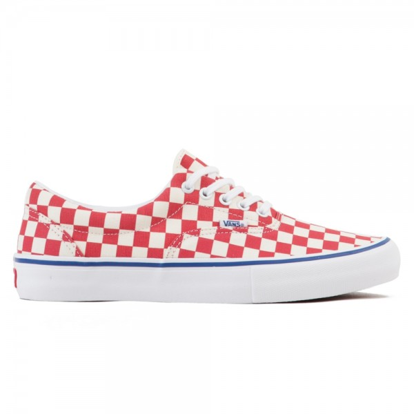 Vans Checkerboard Era Pro (Rococco Red/Classic White)