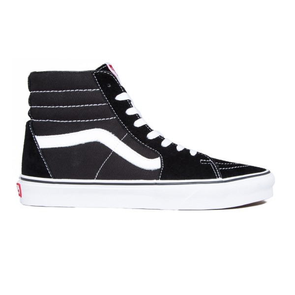 Vans SK8-Hi (Black/Black/White)