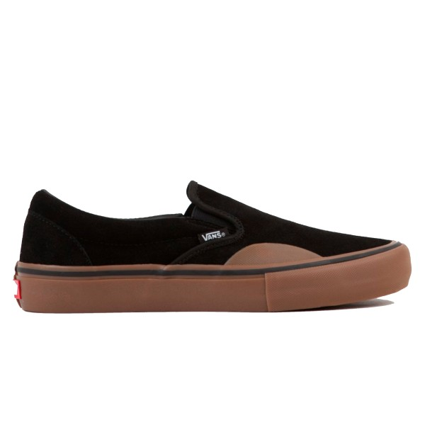 Vans Slip-On Pro Toe-Cap (Black/Gum)