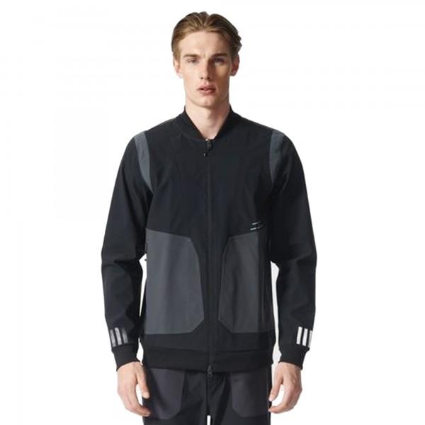 adidas Originals x White Mountaineering Varsity Jacket (Black)