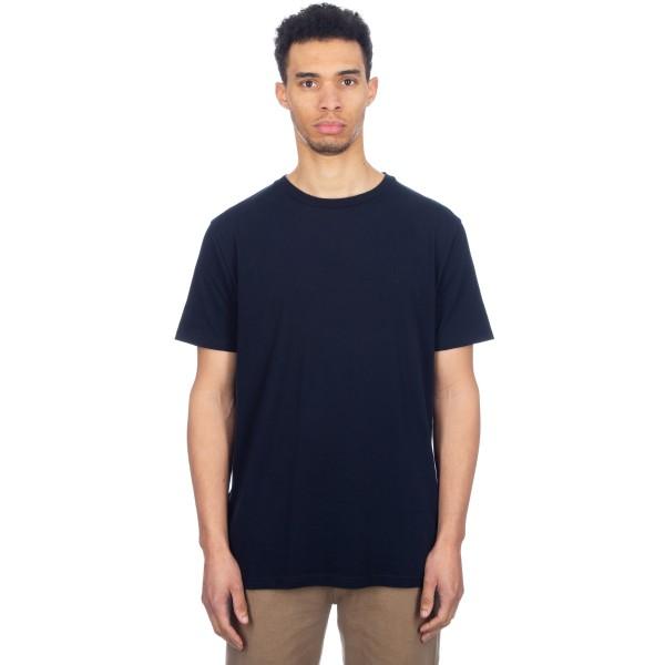 Wood Wood Basic T-Shirt (Dark Navy)