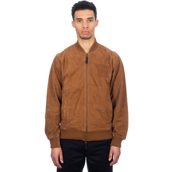 Wood Wood Calvin Jacket (Brown Suede)