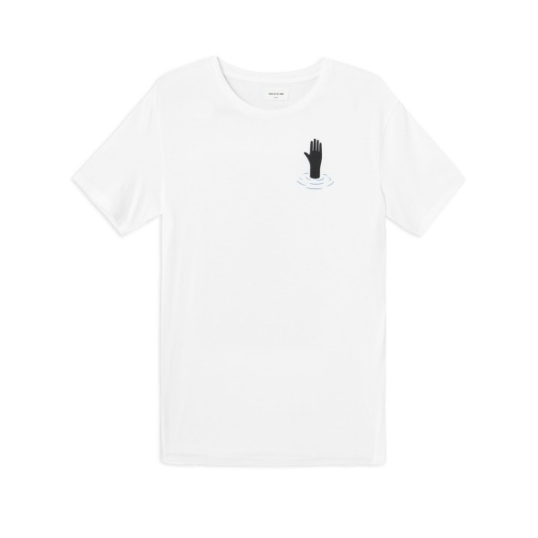 Wood Wood Hand T-Shirt (Bright White)