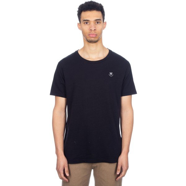 Wood Wood Slater T-Shirt (Black)