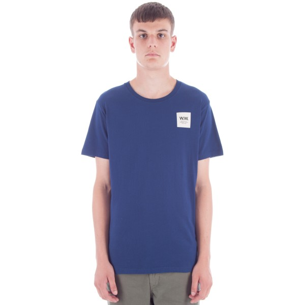 Wood Wood Slater T-Shirt (Estate Blue)